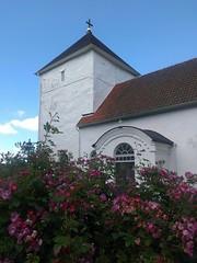 Dalums kyrkas kyrktorn (Ulricehamns kommun) Tags: kyrka dalum kyrktorn