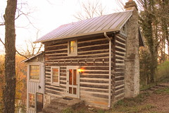 Eversong cabin - Nashville, TN (SeeMidTN.com (aka Brent)) Tags: river tn nashville stones tennessee logcabin stonehall eversong bmok bmok2 bmok101 stonehallpark