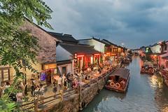 Canal at Shantang Street (), Suzhou, China (Gee!Bee) Tags: china travel suzhou hdr traveler 1740l travelerphotos canon6d