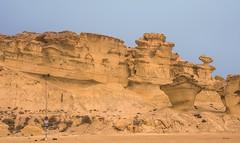 Bolnuevo. (Jillcolms) Tags: sculpture nature weather spain sandstone natural murcia sculptures mazarron bolnuevo costacalida