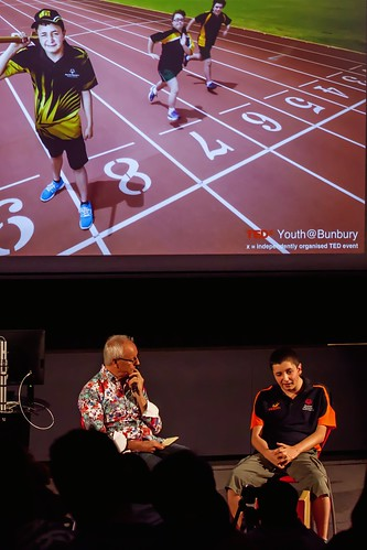 Josef Bandera conversation with Steve Jobson TEDxYouth@Bunbury