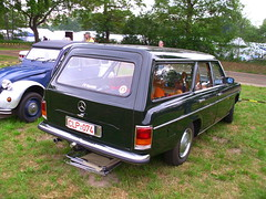 Mercedes-Benz W114/115 /8 Kombi (Zappadong) Tags: auto classic car automobile 8 voiture coche mercedesbenz classics oldtimer oldie carshow strich8 youngtimer automobil 2015 bockhorn strichacht w115 stricher w114 oldtimertreffen w114115 zappadong