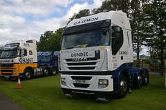 C.A. LEMON, DUNDEE SP58AYB (bobbyblack51) Tags: ca lemon dundee iveco stralis 500 sp58ayb truckfest ingleston edinburgh 2015