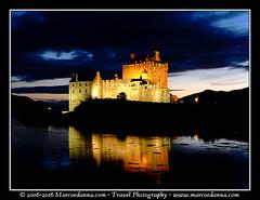 Scottish Highlands (Ram666ram) Tags: marcoedannacom castle eilean donan nightshot evening scotland highlands castello chateaux