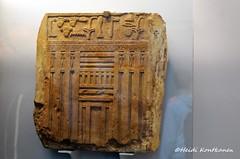 Tomb relief of Nibunesut (konde) Tags: 4thdynasty oldkingdom tombrelief limestone falsedoor nibunesut dendera ancient hieroglyphs
