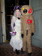 NOLA Halloween: Cute Voodoo Doll Costume (shaire productions) Tags: nola neworleans image picture photo photograph city urban night evening event halloween party outdoor imagery costume revelry cute voodoo voodoodoll people street fun happy celebration