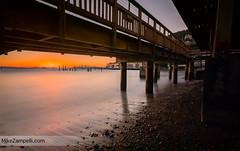 San Francisco Dawn (Michael Zampelli) Tags: sausalito bayarea sunrise dawn sanfrancisco boardwalk orange marin