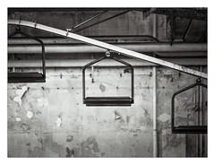 Zwiebackschaukel (schu.j) Tags: mf mittelformat ruhrgebiet devscan sw bw rodinal abandonedplace lostplace fabrik industrie kultur analog filmdev:recipe=11125 rolleirpx400 agfarodinal film:brand=rollei film:name=rolleirpx400 film:iso=800 developer:brand=agfa developer:name=agfarodinal