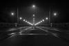 Bern Kornhausbrücke (Jürg Balsiger) Tags: bern brücke kornhausbrücke schweiz nacht strasse street canon bw sw schwarzweiss blackwhite