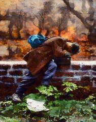 frankfurt POW (Bill Sargent) Tags: war bomb bombing fire firestorm vaccaro world 2