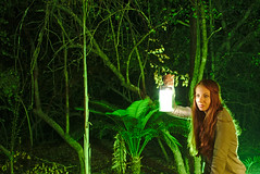Lost in the woods (Jorge Tarlea) Tags: áfrica africa jorgetarlea redhead pelirroja ginger woods bosque kruger nature naturaleza lamp lámpara candil oillamp