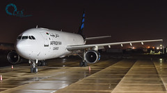 Afriqiyah Cargo Airbus A300-600F (L.Y.S Photography) Tags: afriqiyahairways afriqiyah aircraft a300 a300600 airbus aviation libyanaviation libyanspotter libyanairlines libyan airlines airport misuratainternationalairport misurata misrata mra hlms 5aons night long exposure a300f