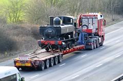 GWR 0-6-0PT 1369 (stavioni) Tags: gwr great western railway steam tank engine 060 060pt 1369 lorry truck reidfreight sr15ros south devon