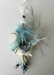 Ostrich Carousel Ornament by Katherine's Collection (ok2la) Tags: dscn0043 katherines ostrich white carousel ornament bird carnival ride merry go round iridescent iridescence fabric resin feather glitter collection