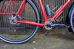Gates Carbon Drive (Ahearne Cycles) Tags: pinion gearbox 18speed custom bike commuterbike touringbike customrack