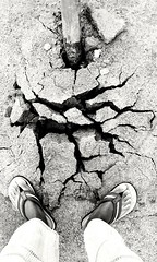 Ground beneath my feet. (Bezaleel Tsebe) Tags: ground earth nature soil feet art cracks quake earthquake underneathmyfeet beautiful beneath godswork africa southafrica limpopo photography awesome wonderful land samsung