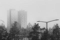 Towers on a misty day (Steffe) Tags: vattentornenihanden watertower fog mist