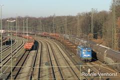 E-loc 140 007-7(Duisburg Entenfang 30-12-2016)