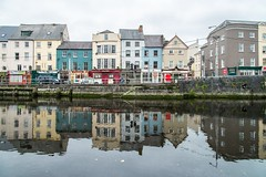 On the banks of the River Lee (Nodding Pig) Tags: river lee cork ireland republicofireland city fathermatthewquay georgesquay reflection 201609144191101