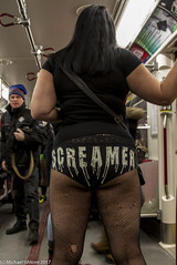 No Pants Subway Ride - Toronto 2017 #npsr #nopantssubwayride (mishlove1) Tags: nopantssubwayride canada canon canon7d comedycentral downtowntoronto forthehellofit funtimes michaelishlove ontario outandabout subway subwayridenpsr ttc toronto withgeorgette pantless georgette