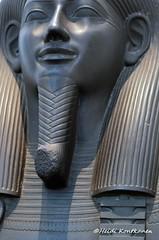 Face on a sarcophagus (konde) Tags: 26thdynasty lateperiod memfis memphis ancient sarcophagus sarkofagi isis osiris goddess djed greywacke coffin treasure museum britishmuseum nut