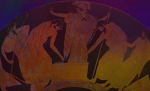 "Petteia - Ludus Latrunculorum  / Iconografía de las civilizaciones helenolatinas • <a style=""font-size:0.8em;"" href=""http://www.flickr.com/photos/30735181@N00/32143107260/"" target=""_blank"">View on Flickr</a>"