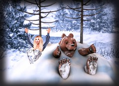 Ferocious Homecoming (lauragenia.viper) Tags: bakaboo bento catwa chapterfour chezmoi envogue glamaffair lelutka lumipro maitreya nantra secondlife secondlifefashion simone swank ultra vistaanimations snow winter bear blond blonde avatar girl