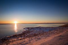 Sunset (Daniel Caridade) Tags: 1030 sunset pôrdosol iceland islândia þjóðvegur bjodvegur route one estrada um sol sun sky céu azul blue