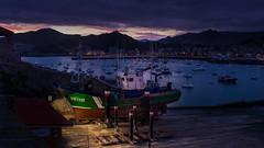 En el varadero (Carpetovetón) Tags: amanecer sunrise puerto castrourdiales cantabria varaderos carrosvaraderos barco pesquero albopuertas mar marcantábrico nikond610 nikon1835 españa