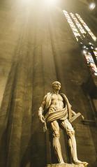 San Bartolomé (Cálamo) Tags: italia milán milano duomo marcodagrate escultura