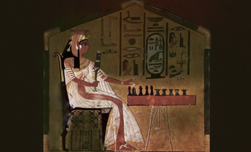"Senet - Lujoso sistema de objetos lúdicos obsequio del dios Toht a la faraona Nefertari • <a style=""font-size:0.8em;"" href=""http://www.flickr.com/photos/30735181@N00/32369502922/"" target=""_blank"">View on Flickr</a>"