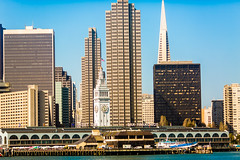 Welcome to San Francisco (Thomas Hawk) Tags: california ferrybuilding sanfrancisco transamerica transamericabuilding transamericapyramid usa unitedstates unitedstatesofamerica architecture fav10