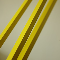 Yellow (Andrew Malbon) Tags: lines angles yellow stripes interior graphic shadows painted scale leica m9 leicam9 50mm 50mmf2 summicron square