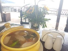 © Restaurant Subic Bay Olongapo Zambales Philippines Asia (hn.) Tags: asia asien bowl bowlofsoup copyright copyrighted dish essen filipino fischsuppe fishsoup food gastronomie gastronomy gemüsesuppe gericht heiconeumeyer lunch luzon meal mittagessen olongapo ph philippinen philippines phl pilipinas pinoy playapapagayo playapapagayobeachinn playapapagayobeachinnandrestaurant republicofthephilippines republikangpilipinas restaurant schale seasia sinigang sinigangnabangus soup soupbowl southeastasia speise subic suppe südostasien vegetablesoup zambales tp201617
