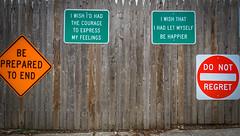 2017.02.12 Signs of Regret (of the dying) Brookland Neighborhood, Washington, DC USA 00604