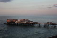Evening light over Cromer pier (cathm2) Tags: uk norfolk cromer coast travel evening light