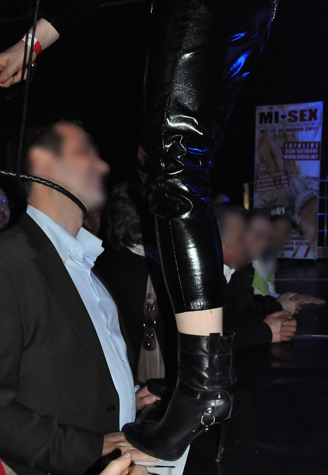 Italian Femdom Boots