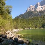 Der Eibsee unterhalb der Zugspitze (02) thumbnail