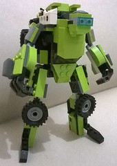 3 (ezrawibowo) Tags: robot mod lego transformers scifi mecha moc meck legoformer