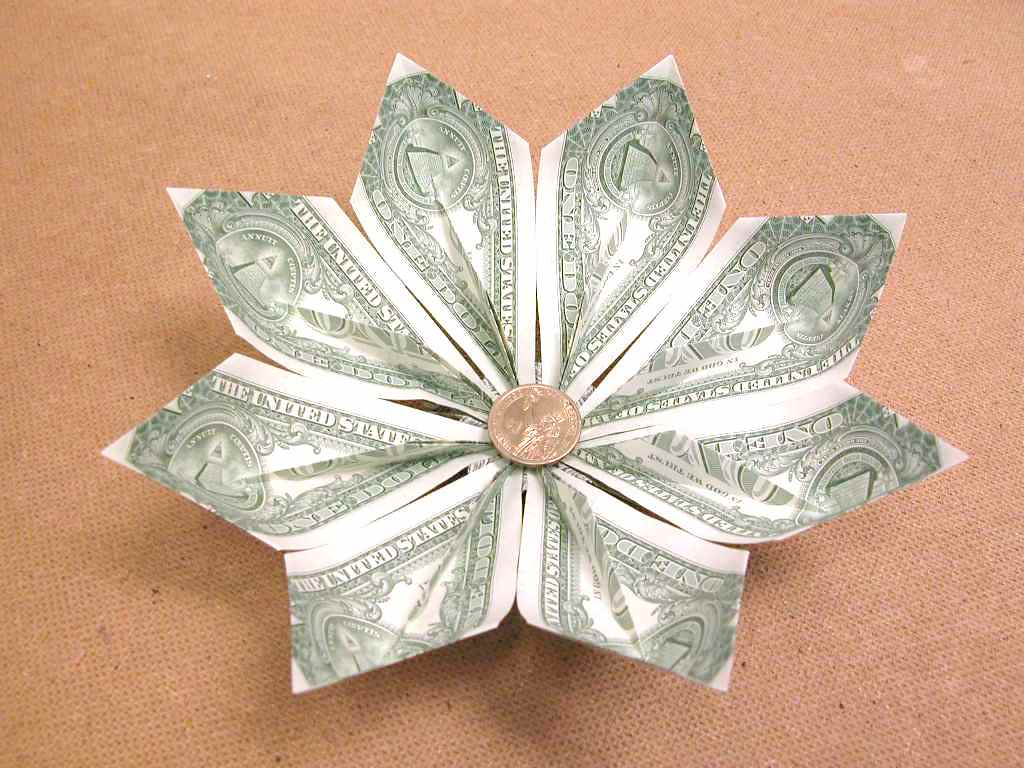 The worlds most recently posted photos of origami and orikane dollar bill gold fish flower 2 fj contreras tags fish money flower gold jeuxipadfo Choice Image