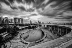 Silver City (-=Wacky B=-) Tags: city architecture marina landscape singapore cityscape reservoir mbs marinabay marinabarrage wackyb leefilters singaporeflyer marinabaysands marduk360 canon5dm3 canon1635mmf4