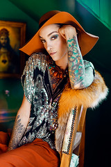 (MAELLE ANDRE) Tags: house colors girl fashion tattoo model colorful colours fashionphotography couleurs style tattoos andre inside styling inked maelle tattooed tatooed fashioneditorial tatouages alexsalvador tatoue inkedgirl maelleandre maelleandrephotography