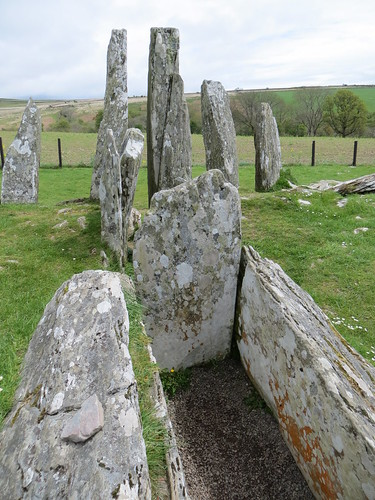 Cairnholy Neolithic Tombs, Carsluith, May 2015