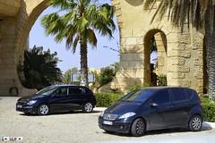 Mercedes benz Class A + Peugeot 308 Tunisia 2015 (seifracing) Tags: bus cars volkswagen mercedes europe cops traffic britain tunisia tunis transport s voiture vehicles transit bmw vehicle vans trucks van peugeot spotting services tunisie brigade tunisian tunesien seifracing