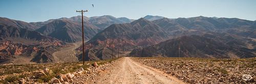 ARGENTINE - Tilcara road