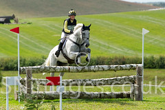 Powys Event Rider Franky Reid-Warrilow riding 'With Love'