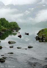 Peace of mind (K. Haagestad) Tags: sea nature boats tranquility lofoten åilofoten
