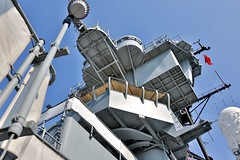 Battleship USS New Jersey - superstructure (nutzk) Tags: new philadelphia ship camden jersey battleship uss warship superstructure