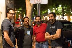 Deciding on the next stop (Sandip Bhattacharya) Tags: downtown meetup sid paloalto lug sandip ilugd 2015 t3rmin4t0r viksit kishorebhargava
