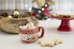 Winter hot drink, cacao with marshmallows and christmas cookies with royal icing, spicy hot chocolate. Christmas tree with lights background (sevda.stancheva) Tags: chocolate hot christmas cookies cocoa holiday cup drink sweet coffee food gingerbread mug background winter cookie brown cinnamon xmas dessert white wooden beverage traditional decoration candy table celebration gourmet delicious tasty year red homemade aroma stick spice star biscuit cappuccino closeup breakfast festive pastry new tree milk vintage nobody snack